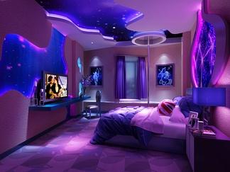 宾馆套房  地中海风格