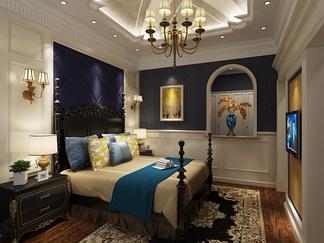 卧室空间  简欧风格