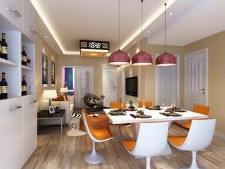 餐厅空间  现代风格