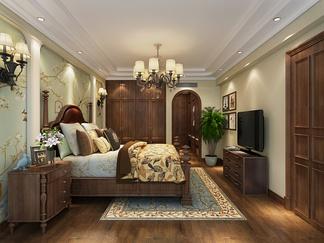 卧室空间  地中海风格