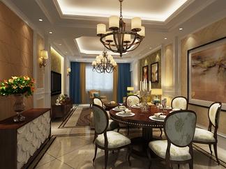 餐厅空间  欧式风格