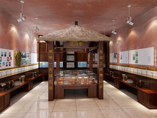 展厅店铺    中式风格