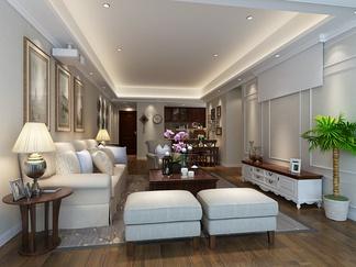 客厅空间 北欧风格
