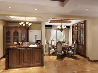 餐厅空间  中式风格