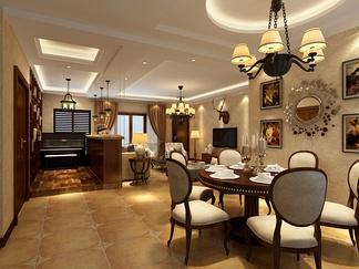 餐厅空间  地中海风格