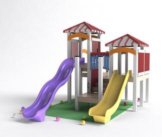 儿童滑滑梯娱乐器材