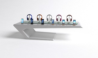 耳机展示柜