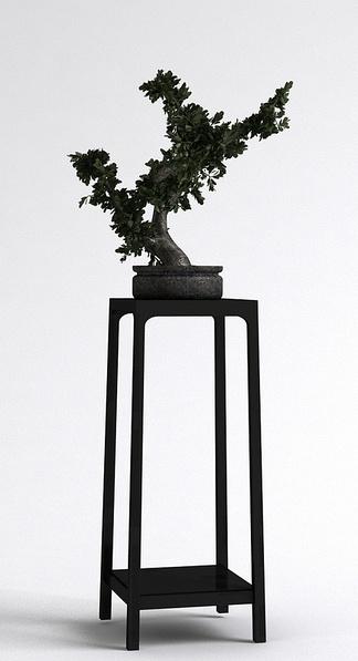 新中式盆栽
