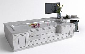 新中式浴缸