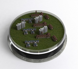 售房沙盘模型