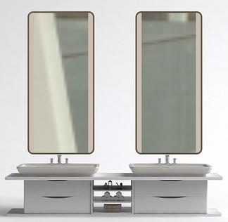 现代简约洗手台