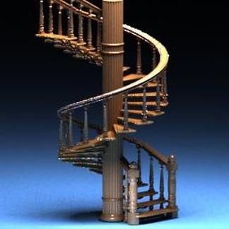 欧式旋转楼梯