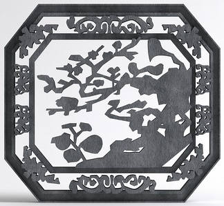 中式雕花装饰