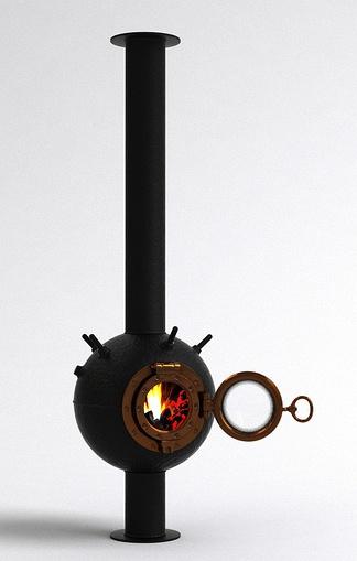 现代欧式壁炉