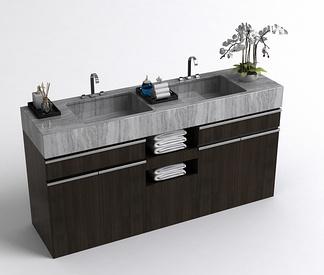中式洗手台