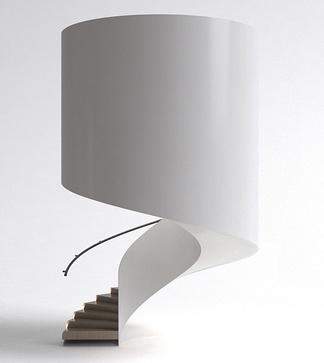 现代螺旋楼梯