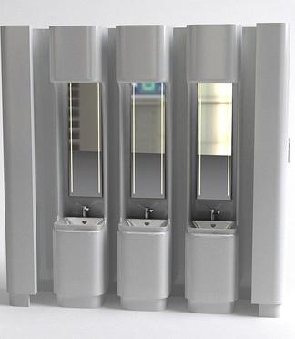现代洗手池