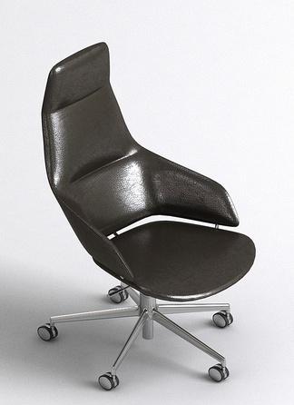 现代皮质办公椅