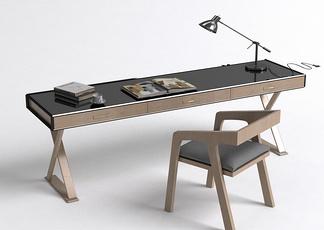新中式办公桌