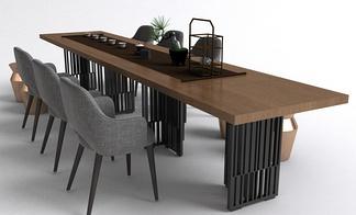 中式会议桌