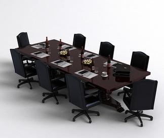 美式会议桌