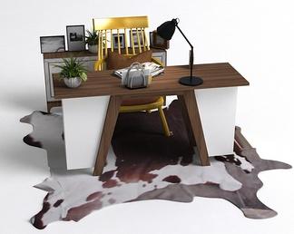 北欧办公桌椅