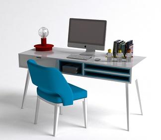 现代电脑桌