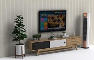 北欧风格电视墙