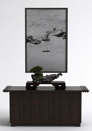 中式玄关桌