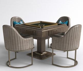 美式自动麻将桌