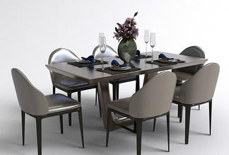 现代餐桌椅