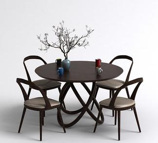 中式茶桌椅