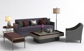 现代简约沙发组合