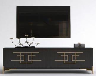 中式轻奢电视柜
