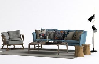 北欧风格沙发组合