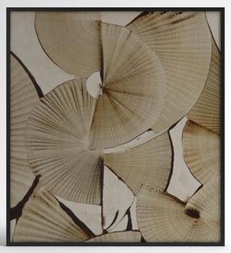 中式扇子挂画