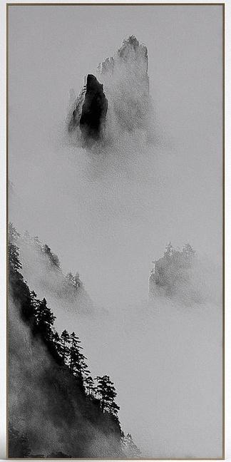 中式山水挂画