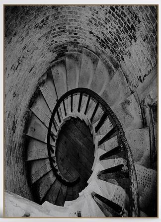 现代楼梯挂画