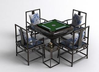 中式麻将桌