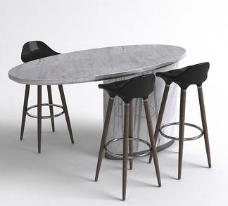 现代吧台椅