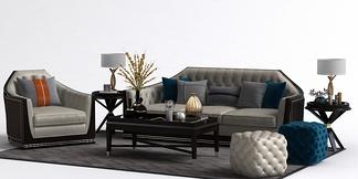 新古典沙发组合