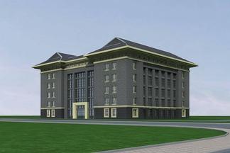 中式多层办公楼