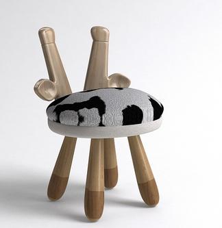 北欧儿童小鹿单椅