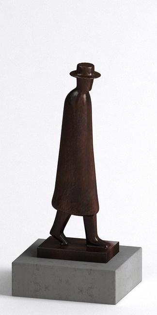 现代人型雕塑
