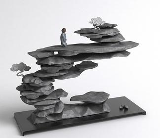 假山摆件雕塑