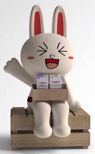 兔基斯玩偶