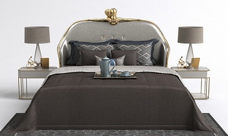 现代床具床组合