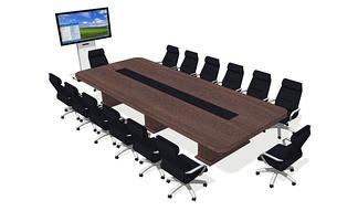 会议桌组合