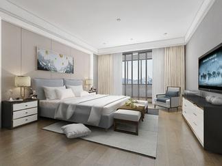 新中式轻奢卧室