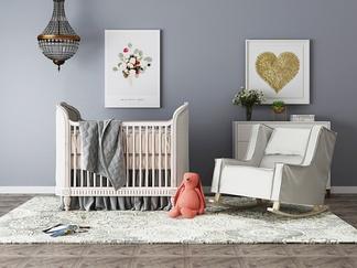 美国RH美式婴儿床组合
